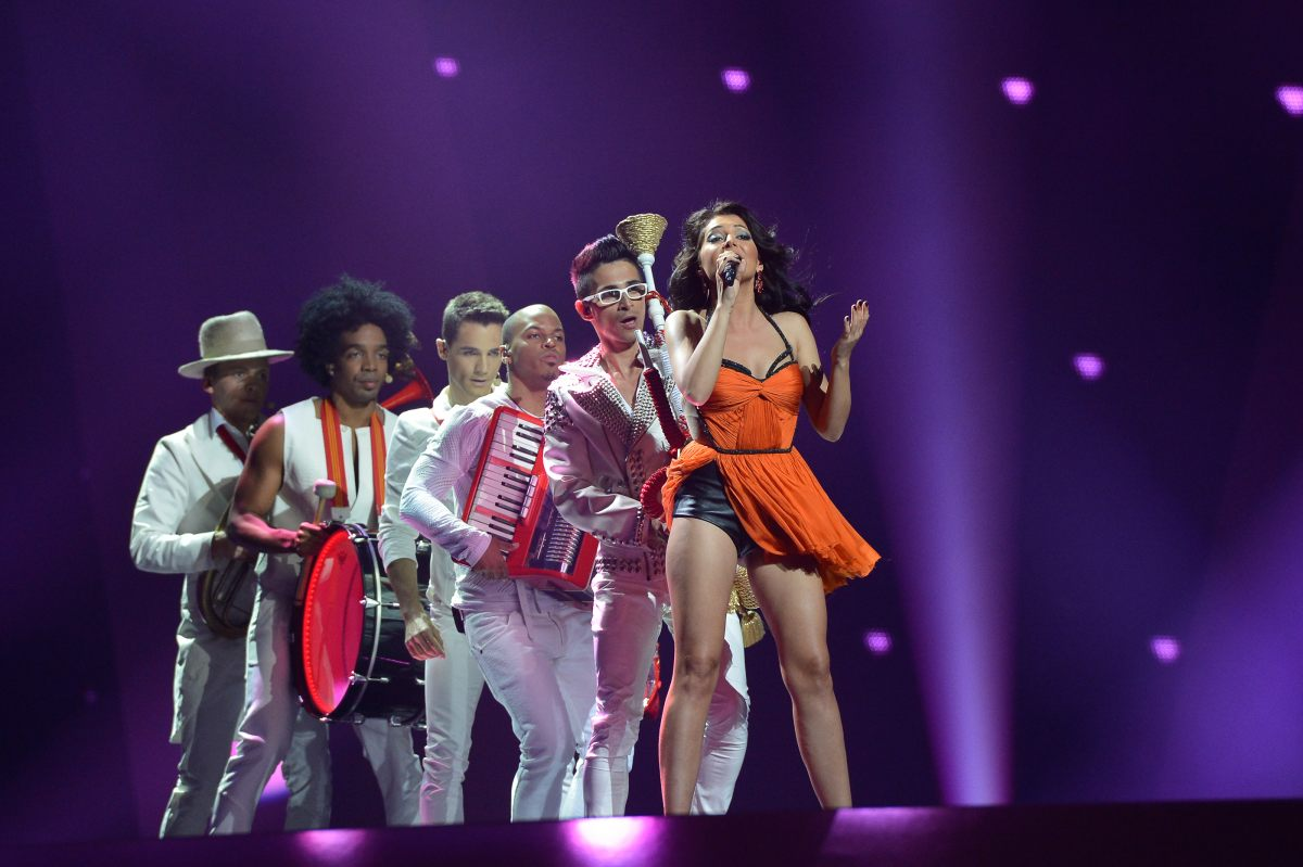 Romania finished 12th at Eurovision Song Contest