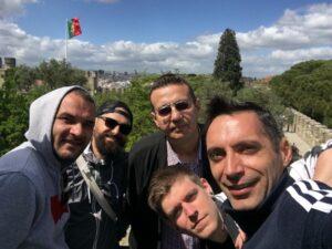 Laur, Andrei, Giannis, Dany & Ionuț