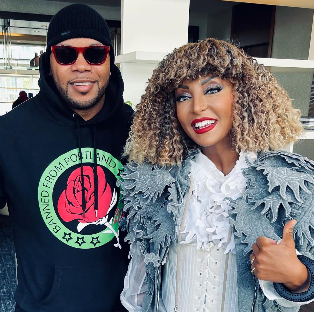 Flo Rida has arrived in Rotterdam